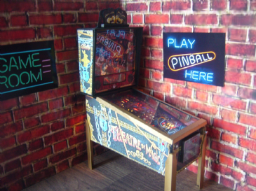 Theatre of Magic 1/12th Scale Miniature Pinball Table Model